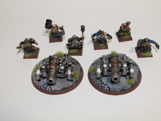 Games Workshop Dwarf Cannon's