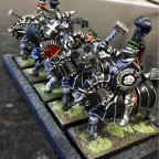 Knights with cavalry hammer/picks
