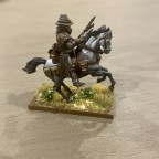 Caballeros Miniatures Mounted Inquisitor