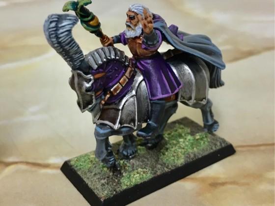 Mounted Wizard Kitbash