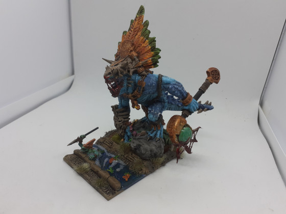 Reptilian giant