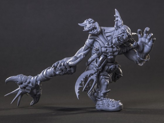 The goblin with bludgeon (89mm tall)