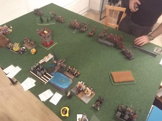 Round 3 vs WDG - 1. Kampf im Keller