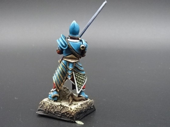 Sword master Last Sword miniature By grand frere face 2