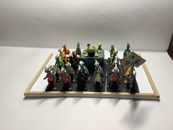 Lawgnome's Temple Guard and Cuatl